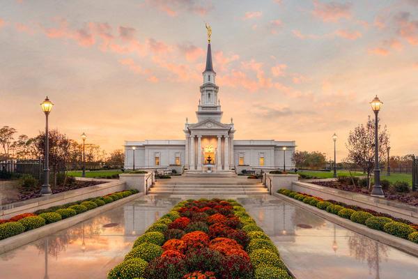 Hartford Temple - Path