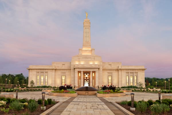 Indianapolis Temple - Temple Path