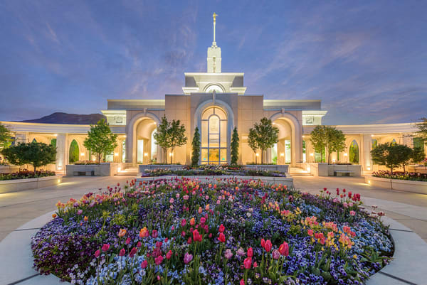 Mt. Timpanogos Temple - Holiness to the Lord