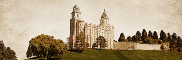 Manti Temple - Timeless Temple Series