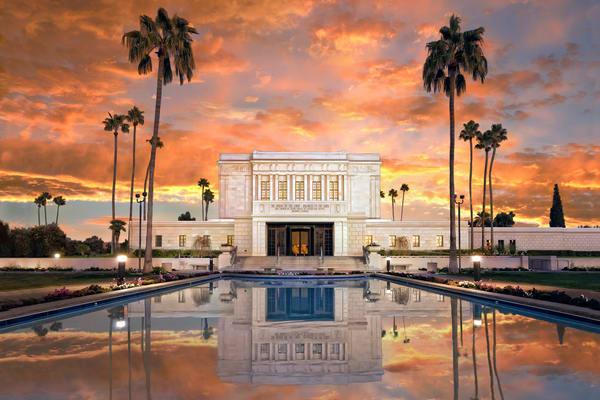 Mesa Temple - Sunrise