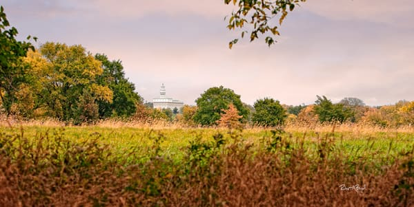 Nauvoo Temple - Fall Field