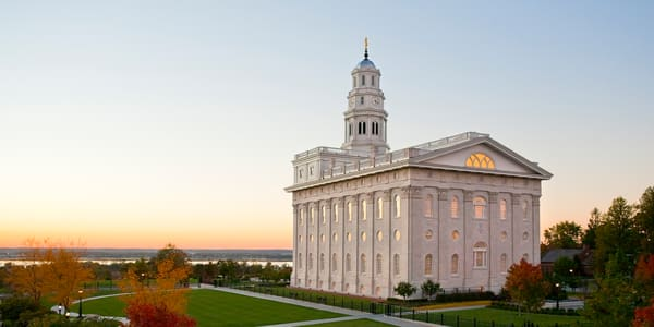 Nauvoo Temple -  Looking West