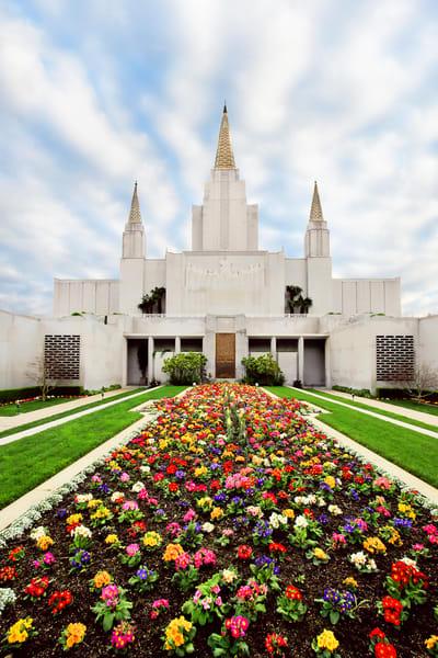 Oakland Temple - Flowers