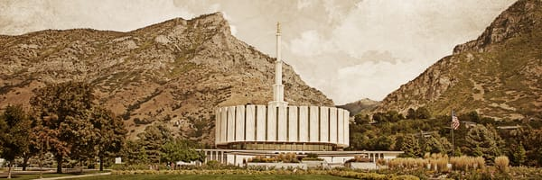 Provo Temple - Timeless Temple Series