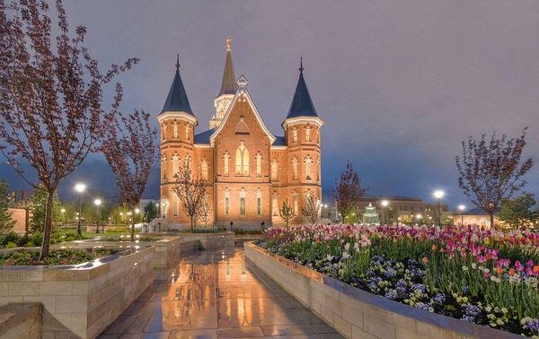 Provo City Center Temple - Rain Path