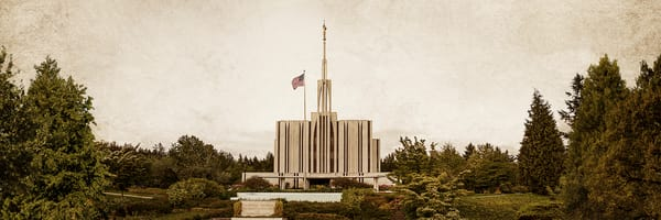 Seattle Temple - Timeless Temple Series