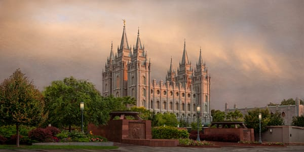 Salt Lake Temple - Refuge