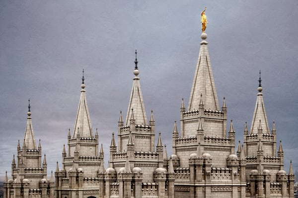 Salt Lake Temple - Mountain of the Lord
