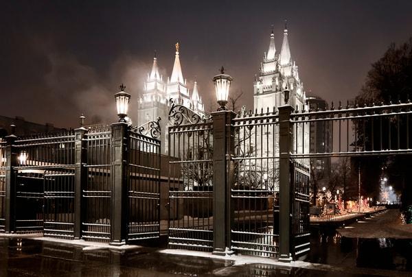 Salt Lake Temple - Straight is the Gate