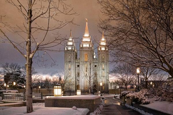 Salt Lake Temple - Sanctuary