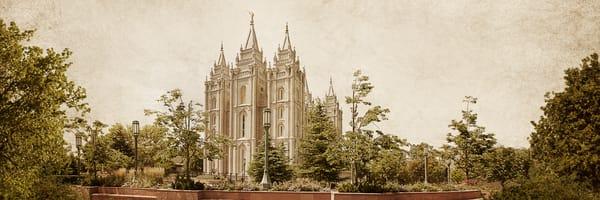 Salt Lake Temple - Timeless Temple Series
