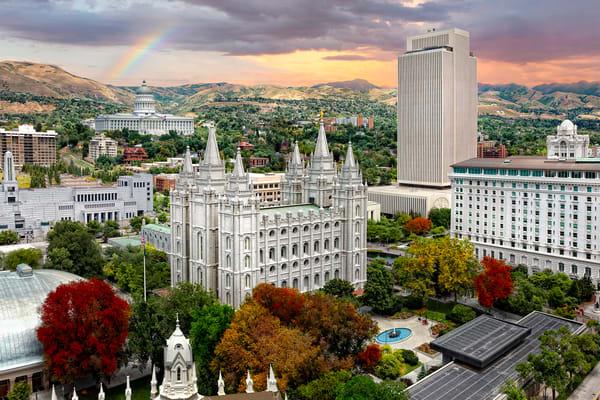 Salt Lake Temple - Temple Square