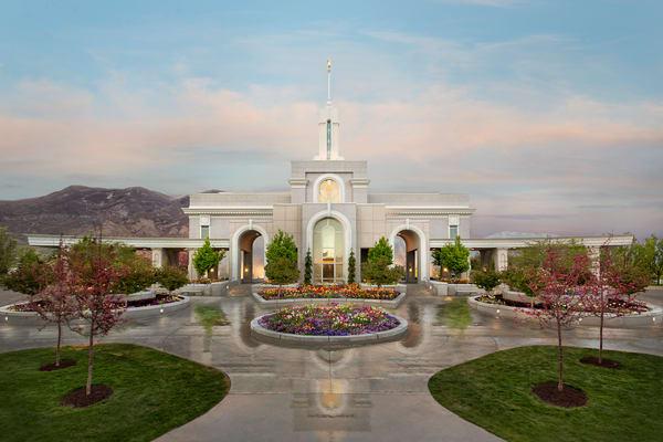 Mt Timpanogos Utah Temple - Eden