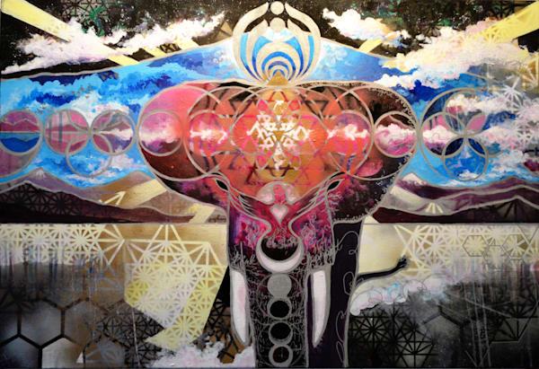 Elephant Power Mandala: Pink Edition