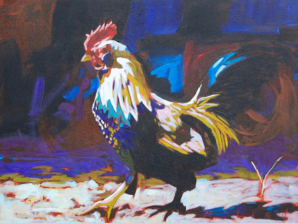 Shop for fine art prints like Country Strut, from original painting by Matt McLeod at Matt McLeod Fine Art Gallery.
