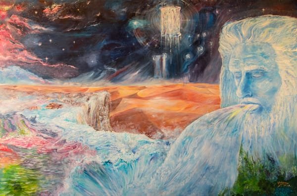 """""""Outpouring"""" by Justin R. Monaghan 