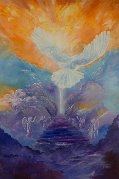 """""""Jacob's Ladder - Unseen World""""  by Justin R. Monaghan 