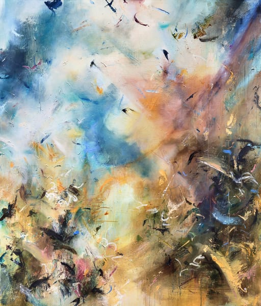 Abstract World Paintings for Sale | Samantha Kaplan