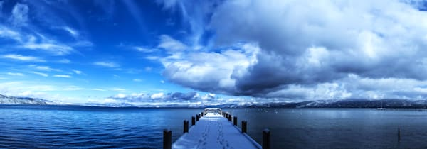 A Tahoe Winter Wonderland - Lake Tahoe winter fine art photography print