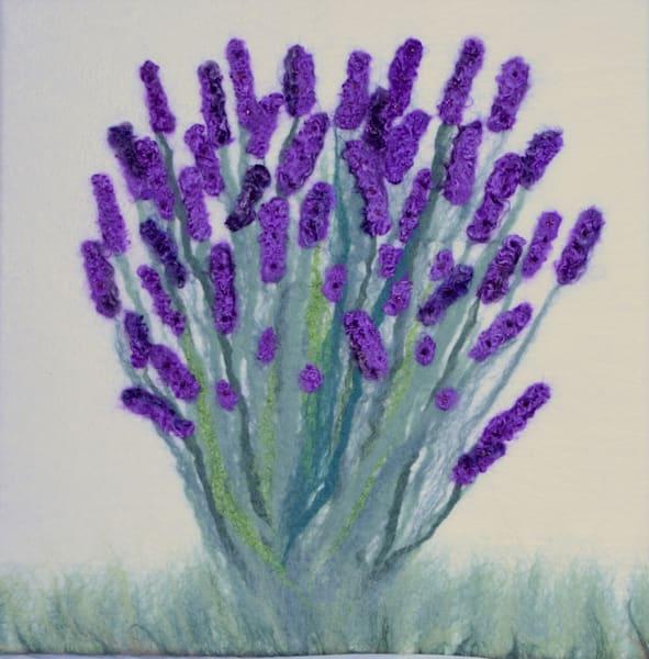 Lavender Bunch Art | Felting Art
