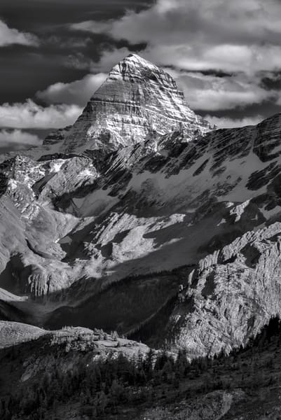 Mt. Assiniboine - The King. Rocky Mountains | Canadian Rockies | Banff National park|