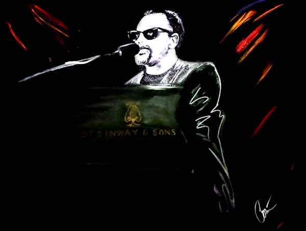 Billy Joel Art Painting