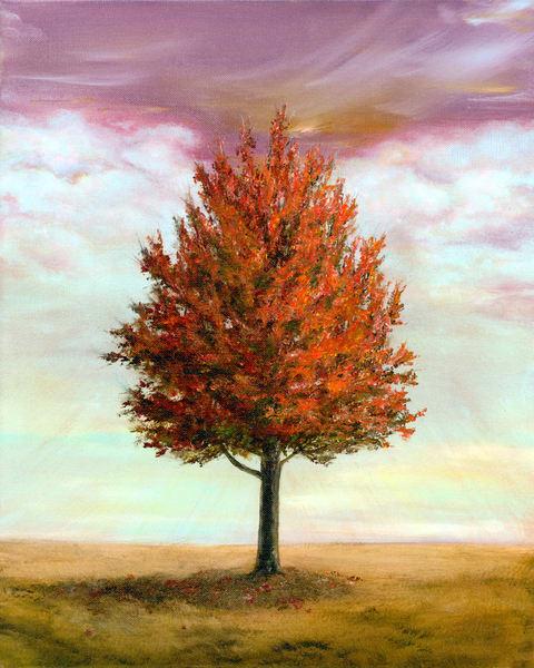 Leonas Tree/Fall Art | lawrencejollyfineart
