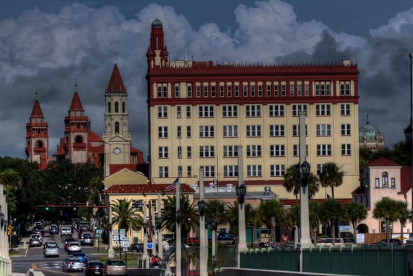 A Fine Art Photograph of A Sunny Afternoon in St. Augustine by Michael Pucciarelli