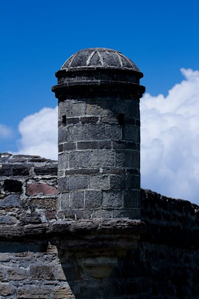Fine Art Photograph of Castillo de San Marcos by Michael Pucciarelli
