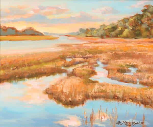 Mud River   Contemporary Landscapes  Gordon Meggison IV