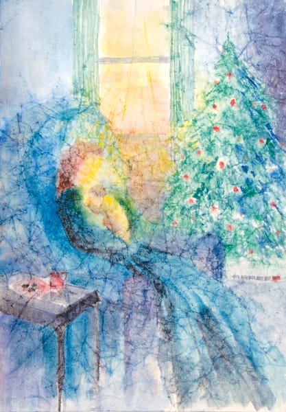 """A Christmas Moment"" by Judy Johnson 