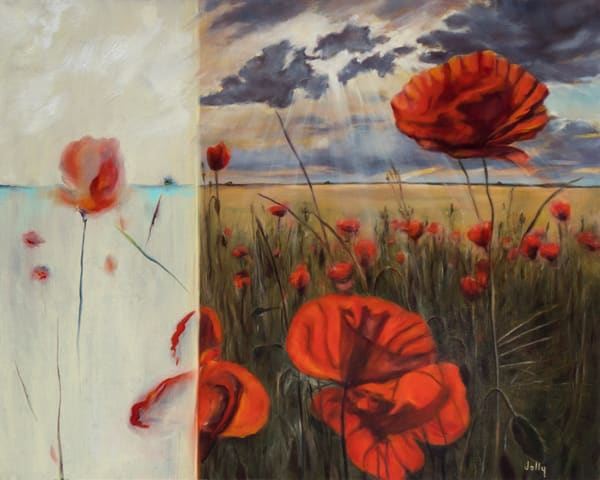 Texas Poppies Art | lawrencejollyfineart