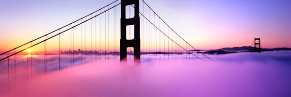 """Golden Gate Sunrise"""