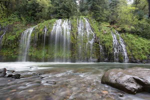 """Green Waterfall, Dunsmuir CA"""