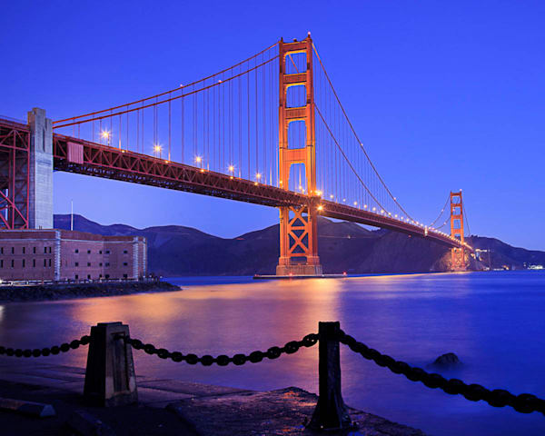 """Golden Gate Glow"""