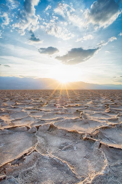"""Salt Flats of Death Valley"""