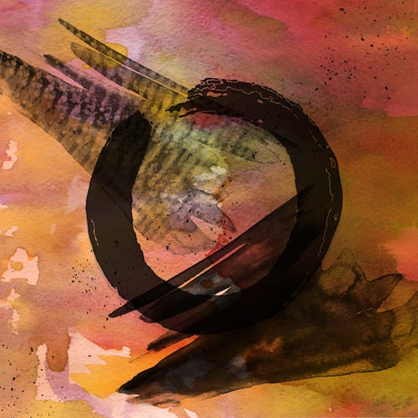 Enso-abstracted-art-paintings-for sale | Grimalkin Studio