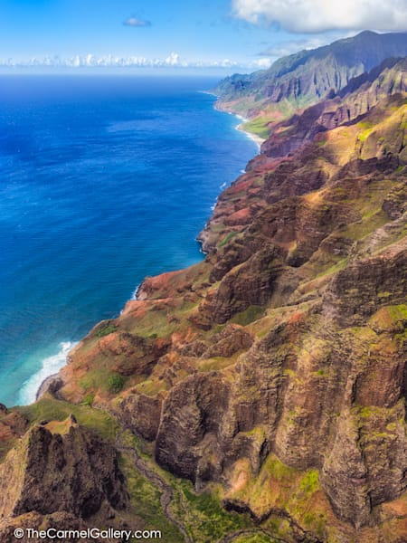 Vertical Photo of NaPali Coast