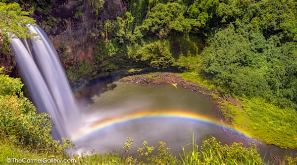 Wailua Falls Rainbow Photo