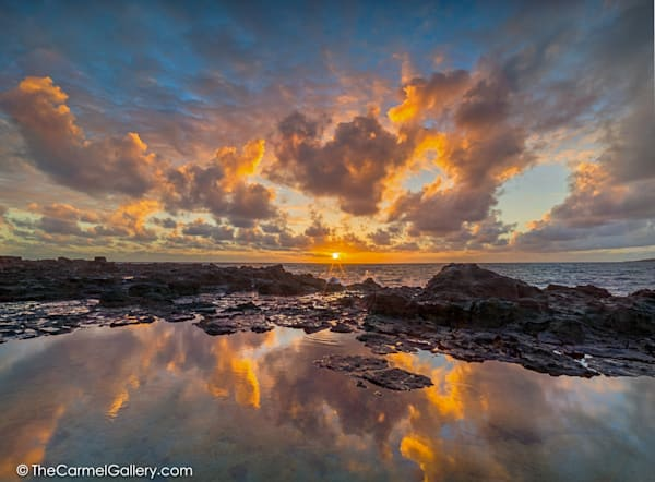 Dramatic Sunrise Photo  on Kauai