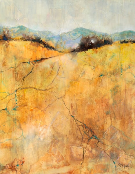 Treasures in the Soil A Fine Art Landscape Painting by Pacific Northwest Artist Sarah B Hansen