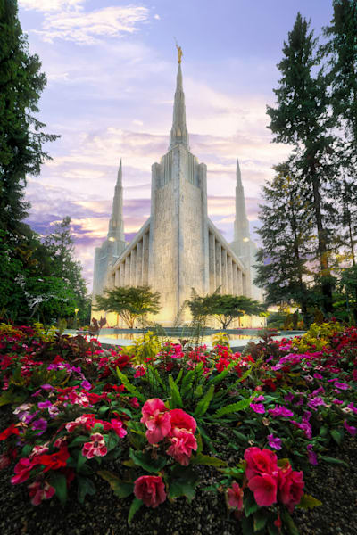 Portland, Oregon LDS Mormon Temple