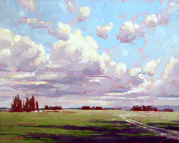Shop for original paintings like As If a Breeze, oil on canvas by David Mensing at Matt McLeod Fine Art Gallery.
