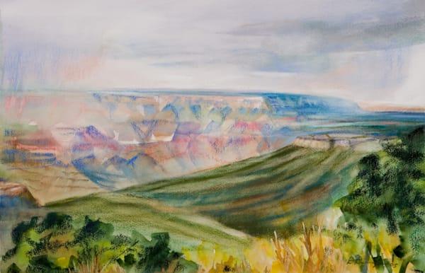 landscape painting grand canyon north rim