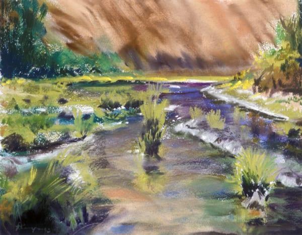 landscape painting umpqua river willamette valley oregon