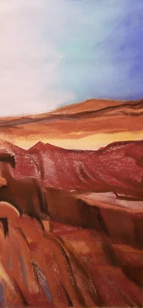 laandscape painting grand canyon colorado river