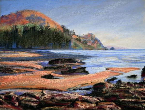 landscape painting oregon coast short sands