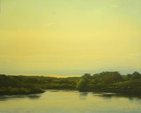 Shop for original paintings like Meandering, oil on canvas by Bruce Brainard at Matt McLeod Fine Art Gallery.