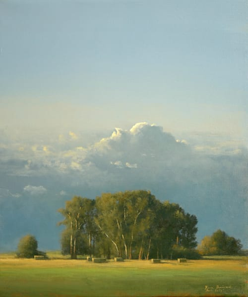 Shop for original paintings like Seven Bails, oil on canvas by Bruce Brainard at Matt McLeod Fine Art Gallery.